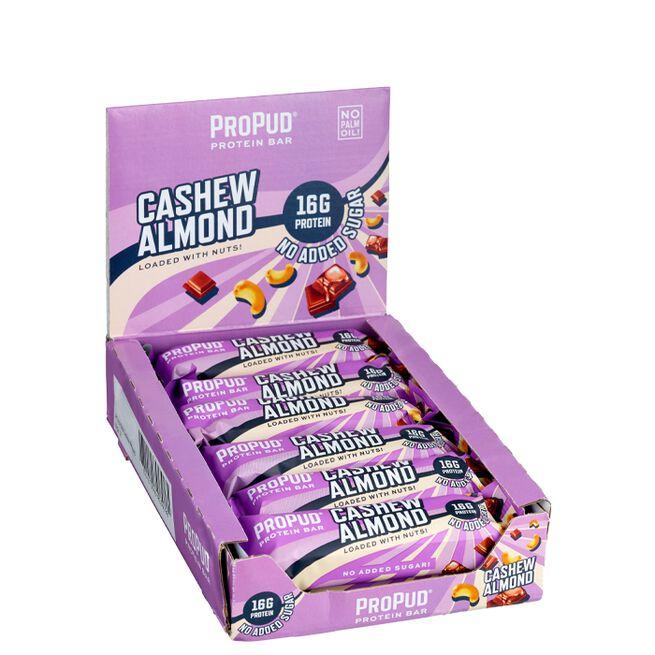 12 x ProPud Protein Bar, 55 g, Cashew Almond