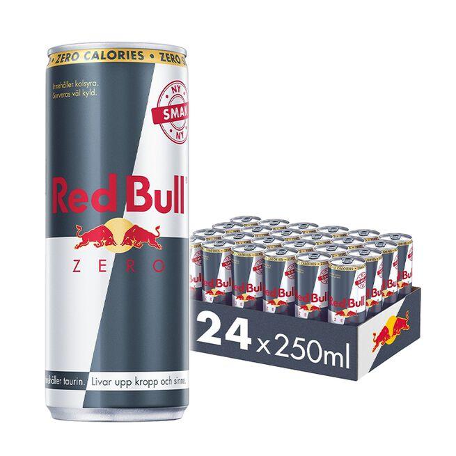 24 x Red Bull Energidryck Zero, 250 ml