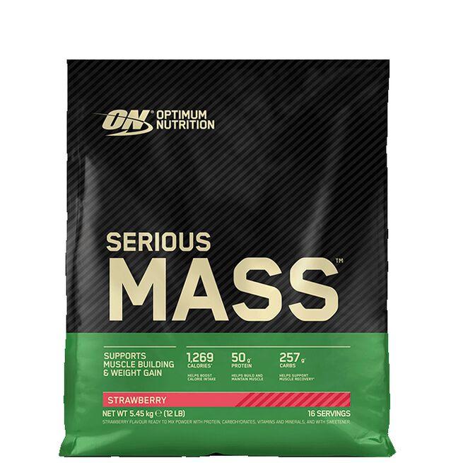 Optimum Nutrition, Serious Mass, 5455 gram, Strawberry