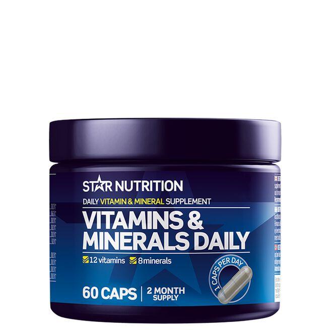 Star nutrition Vitamin minerals daily