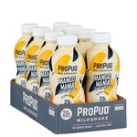 8 x ProPud Protein Milkshake, 330 ml, Mango Mania
