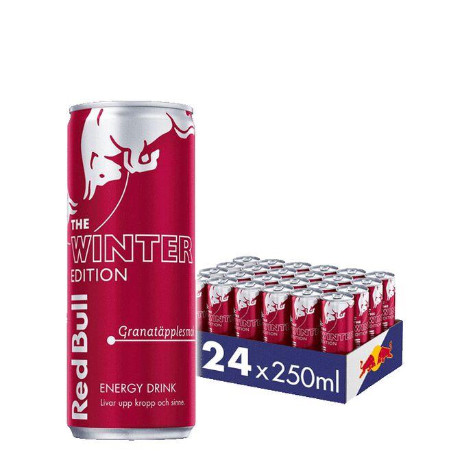 24 x Red Bull Energidryck, 250 ml, Winter edition